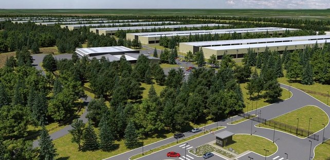 Apple Data Centre