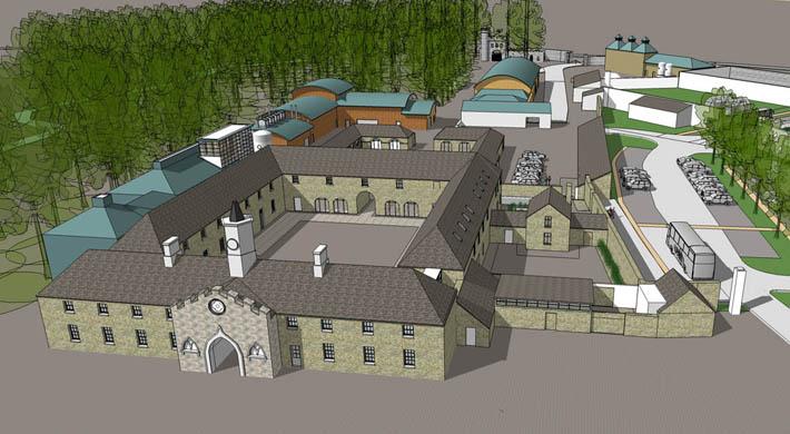 Slane Castle Whiskey Distillery