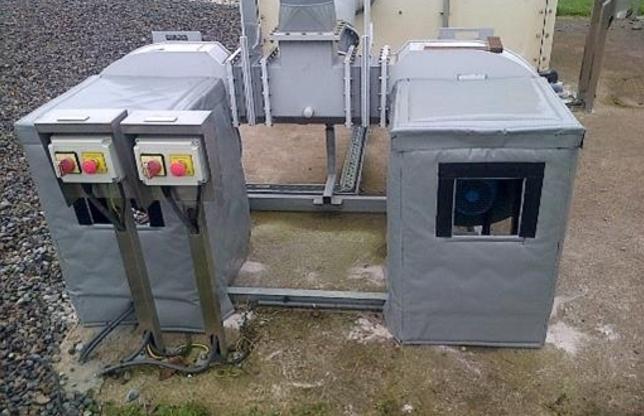 Ventac Pumping Station Housing